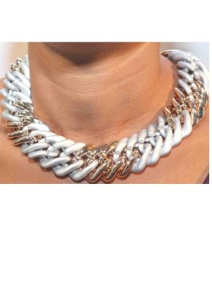 Fashion Chunky Chain Necklace – Bronze Plated