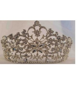 Beautiful Silver Crystal Tiara