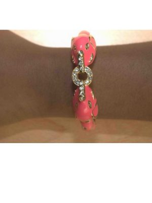Pink Dog kiss Bangle