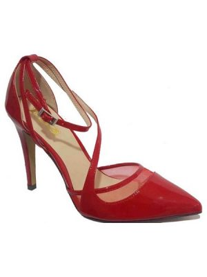 Red Fashion Court Shoe