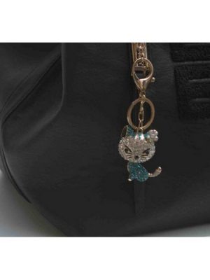 Sparkle Green Hello Kitty Bag Jewellery