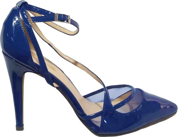 Blue Fashion Court Shoe