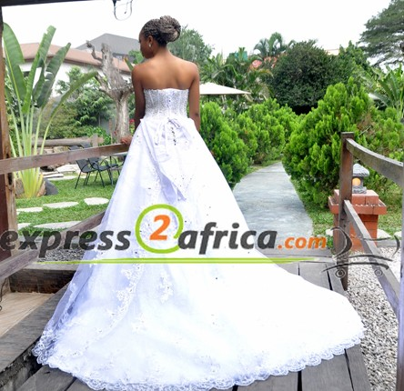 Crystal Luxury Lace Bridal Gown
