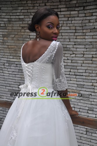 A-line Bridal Gown - White